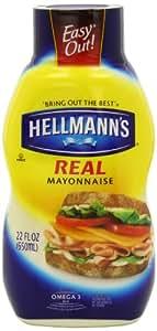 Hellmann's Real Mayonnaise, 22 Ounce (Pack of 3)