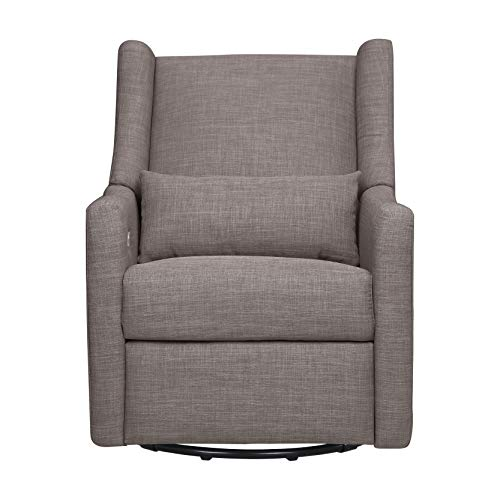 41yp CK1bgL - Babyletto Kiwi Electronic Power Recliner And Swivel Glider With USB Port In Grey Tweed, Greenguard Gold Certified