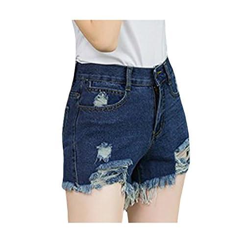 Jueshanzj Shorts - En jean - Femme
