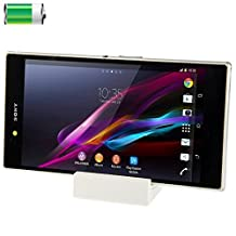 Iphone Case Cover, Desktop Magnetic Charging Dock for Sony Xperia Z Ultra / XL39h Case Mobile ( Color : White )