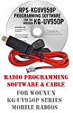 Wouxun KG-UV950P Series Two-Way Radio Programming Software & Cable Kit
