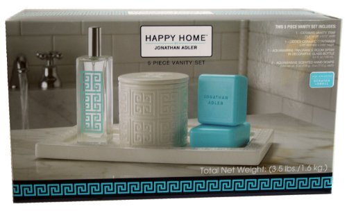 Jonathan Adler Happy Home 5 Piece Vanity Set by Jonathan Adler