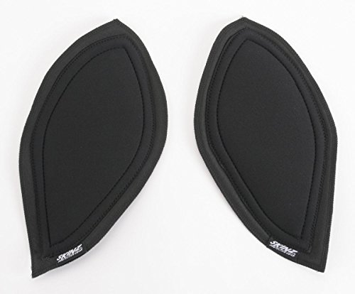 (Skinz Protective Gear Pro-Series Console Knee Pads - Black PCKP600-BK)