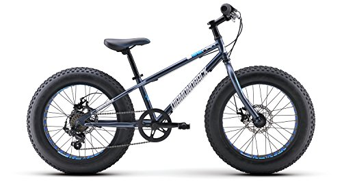 (Diamondback Bicycles El Oso Nino Complete Youth Fat Bike, Satin Blue, One)