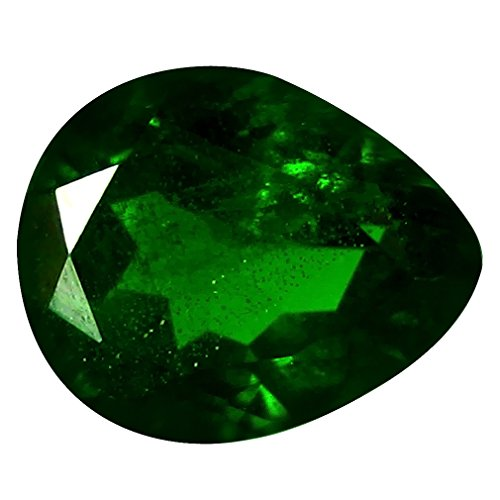 2.67 ct AAA Grade Pear Shape (10 x 8 mm) Green Russian Chrome Diopside Genuine Loose Gemstone