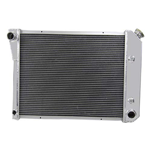 OzCoolingParts 68-87 Chevy & Oldsmobile & Pontiac Radiator, 3 Row Core Full Aluminum Radiator for 1968-1987 69 70 71 72 73 74 75 76 77 78 79 80 85 86 Chevy Camaro Chevelle Nova and Many Cars