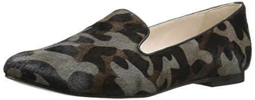 Flat Cole Grey Haircalf Ballet Loafer Haan Women's Camo Deacon zxCqwaBXx