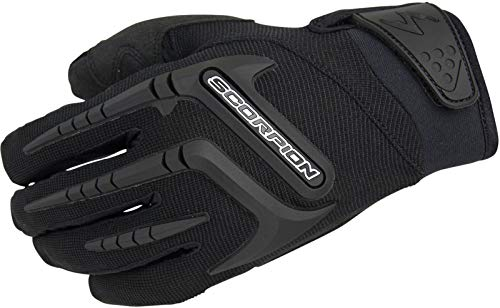 ScorpionExo Men's Skrub Gloves(Black, XXX-Large), 1 Pack