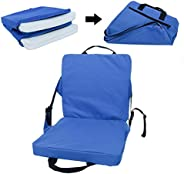 Stadium Seat Cushions for Bleachers , with Back Support , Bleacher Chairs with Back and Cushion ,Canoe Waterpr