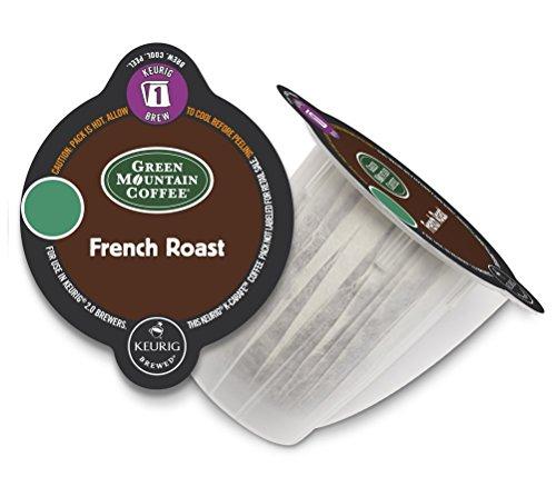 Keurig 2.0 Green Mountain French Roast , K-Carafe Packs (8)
