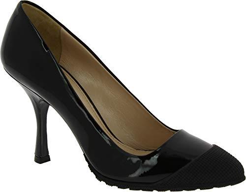 Miu Miu Patent Leather - Miu Miu Women's Black Patent Leather Pumps - Heels Shoes - Size: 9 US