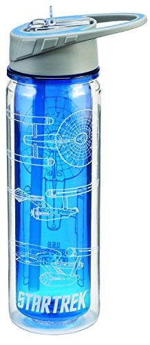 Star Trek 18 Oz. Tritan Water Bottle 80075