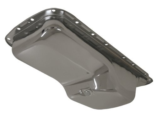 1963-78 Chrysler/Mopar Big Block 361-383-400-440-Hemi 426 Oil Pan - Chrome (440 Block Small)