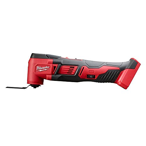 (Milwaukee 2626-20 M18 18V Lithium Ion Cordless 18,000 OPM Orbiting Multi Tool with Woodcutting Blades and Sanding Pad with Sheets Included (Battery Not Included, Power Tool Only))