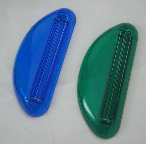 3 Ez plastique Tube Squeezer Dentifrice Holder Distributeur Extrait Rolling salle de bains
