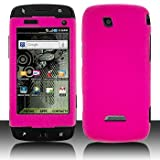 Pink Hard Plastic Rubberized Case Cover for Samsung Sidekick 4G T839