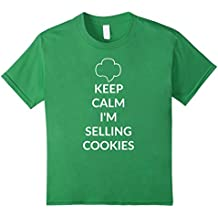 Keep Calm I'm Selling Cookies - Scout Shirt for Girls