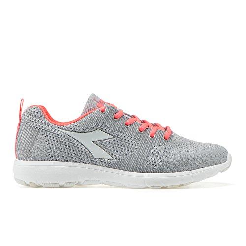 Diadora X Run Light W, Chaussures de Running Compétition Femme C5494 - BLANCHATRE