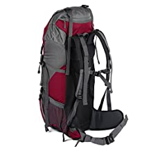 OUTAD 60L(55L+5L) Hiking Backpack, Camping Backpacking Mountaineering Hiking Multi-Day Pack