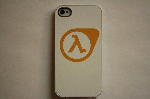 (710wi4) Half Life 2 Apple iPhone 4 / 4S White Case