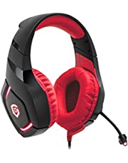 EMPIRE GAMING Casque Gamer MULTIPLATEFORME Empire H1100 Compatible PC / PS4 / Xbox* / Nintendo Switch. Arceau Ajustable ET REGLABLE – Microphone Flexible – Couleur ET Design Ultra Gamer