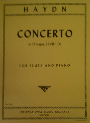 Haydn Concerto in D Major for Flute and -