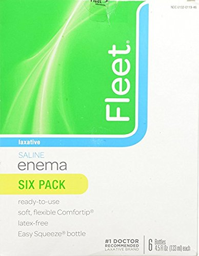 Fleet Enema Saline Ready to Use - SpecialUnits 5Pack ( 6 Pack Each ) Nk$l:eBV