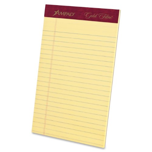 Ampad Gold Fibre Jr. Legal Size Perforat - Jr Legal Ruled 50 Sheet Shopping Results