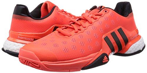 da Uomo nbsp;Boost 5 Tennis 8 2 3 42 EU UK Rosso 2015 Scarpe adidas da Barricade Uomo Nero 7CqxI1Ew8n