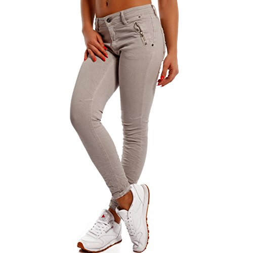 Made Basic Donna Grau Italy Relaxed Jeans ZzWqwFPT