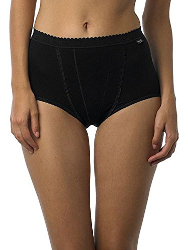 Sloggi Womens Pack Of 2 Tummy-Toning Maxi Briefs Black Size Us 12 - Fr 42 Sloggi Pack