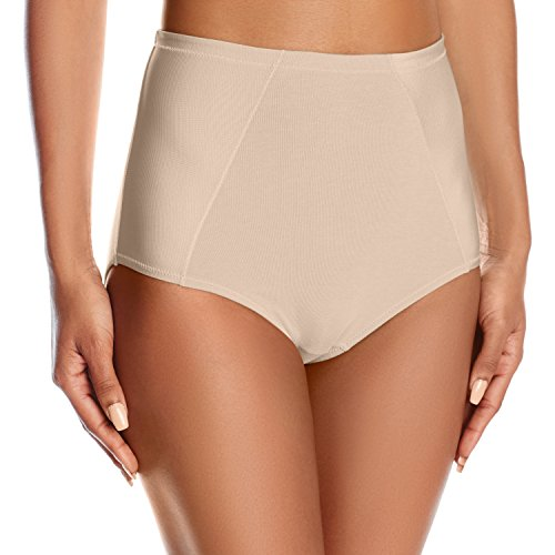 Vanity Fair Stretch Briefs (Vanity Fair Women's Cooling Touch Cotton Stretch Brief Panty 13320, Rose Beige, Large/7)