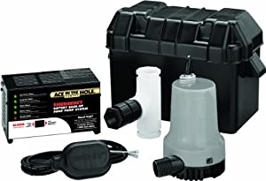 Simer A5500 Emergency Battery Backup Sump Pump System