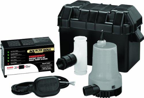 Simer A5500 Emergency Battery Backup Sump Pump System