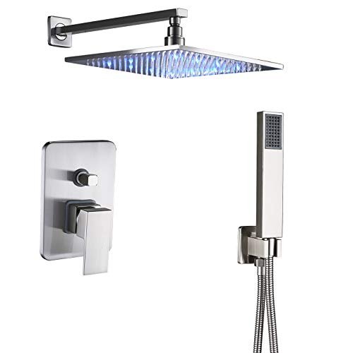 single color led shower head - 6