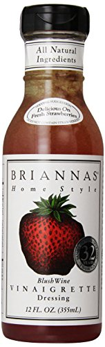 Brianna's Blush Wine Vinaigrette, 12 - Wine Dressing Vinaigrette