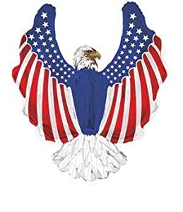 Patriotic Eagle Shape-a-loon Pkg/10