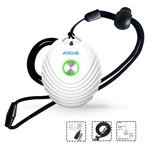 AVICHE Portable Personal Mini Air Purifier | Travel USB Negative Ion Generator | Gift for Lover (White)