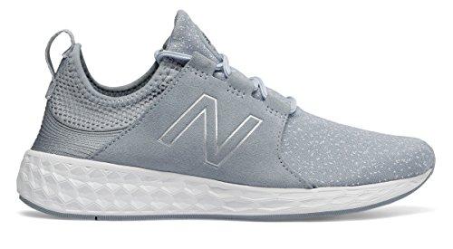 ジャム逆説使用法(ニューバランス) New Balance 靴?シューズ レディースライフスタイル Fresh Foam Cruz Grey with Pigment グレー ピグメント US 6 (23cm)