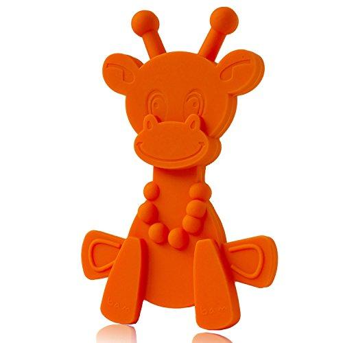 Baby Teething Toy Extraordinaire - Little bamBAM Giraffe Tee