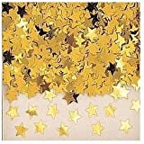 Star Table Confetti (see all colours available) (GOLD)