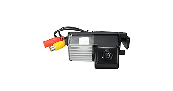 NTSC//PAL Color Car Reverse RearView Back up Camera For Nissan Versa 4D 2006-2011