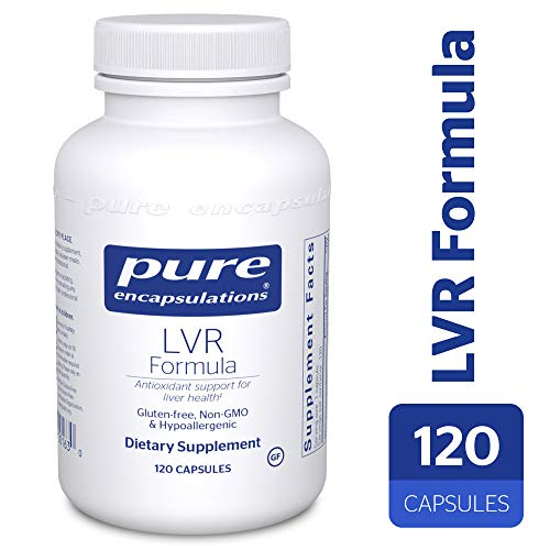 Pure Encapsulations - LVR Formula - Hypoallergenic Supplement with Antioxidant Support for Liver Cell Health* - 120 Capsules by Pure Encapsulations (Image #9)