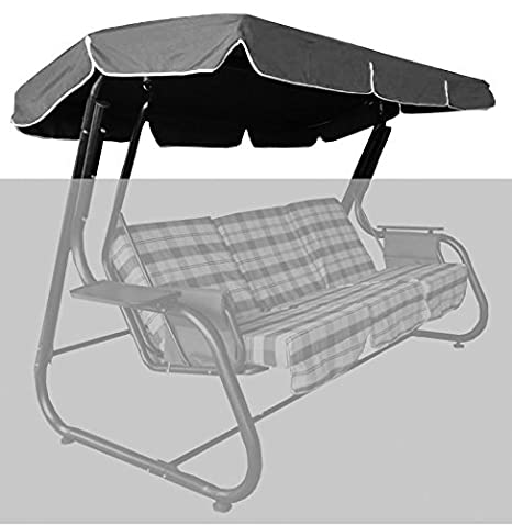 Pinkdose® Brown: Free Shipping Roof for Garden Swing/Hammock 265X160Cm, Multicolor Solid Oxford Fabric, Waterproofed Pu Coating Durable Fabric