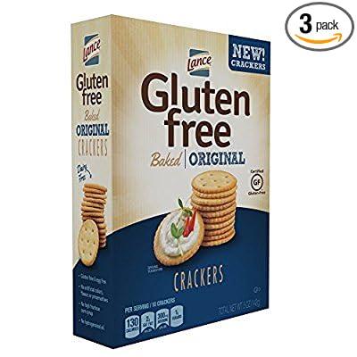 Lance Gluten Free Original Crackers 3 boxes Snyder-Lance