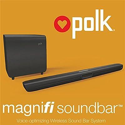 Polk Audio Magni-Fi Soundbar with Wireless Active Subwoofer