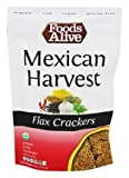 Foods Alive - Organic Flax Crackers Mexican Harvest - 4 oz