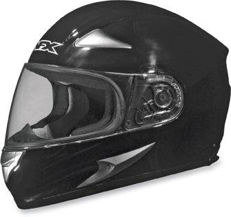 AFX FX-Magnus Solid Big Head Helmet , Size: 3XL, Primary Color: Black, Helmet Type: Full-face Helmets, Helmet Category: Street, Distinct Name: Flat Black, Gender: Mens/Unisex 0101-5830