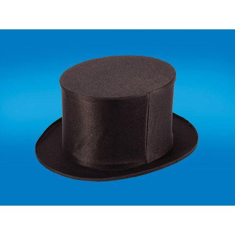 Loftus Empire Magic Folding Top Hat, Black, Standard -