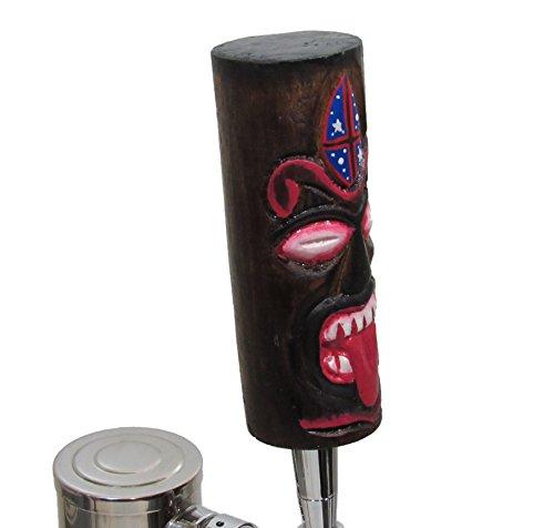 or Bars Tiki Totem Pole Full Size 10 Beer Tap Handle Pull for Homebrew Kegerators